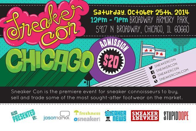 Sneaker Con Chicago October 2
