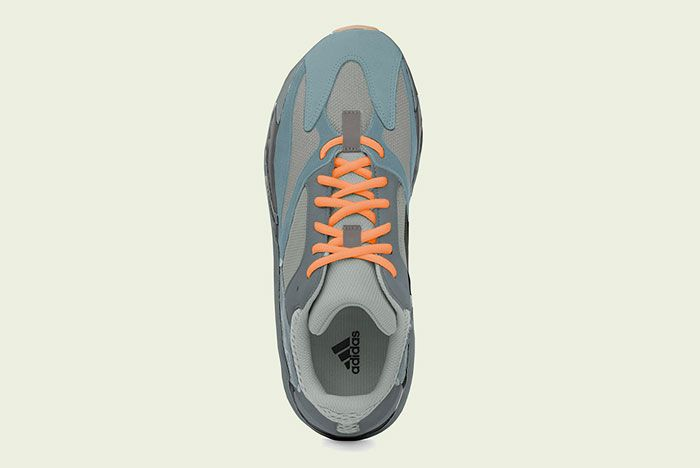 Adidas Yeezy Boost 700 Teal Blue Top