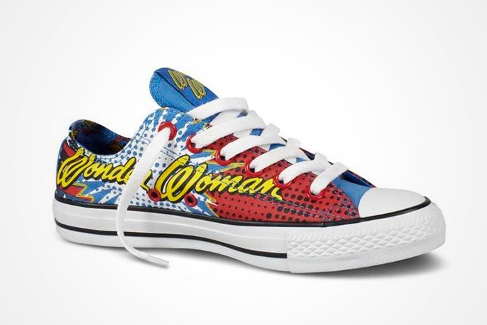 Dc Comics X Converse Chuck Taylor All Star ' Wonder Woman' 2012 Present5