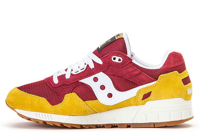 Saucony Shadow 5000 Red Yellow S70404 21 Medial