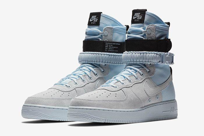Nike Sf Af 1 Hi Blue Tint 3