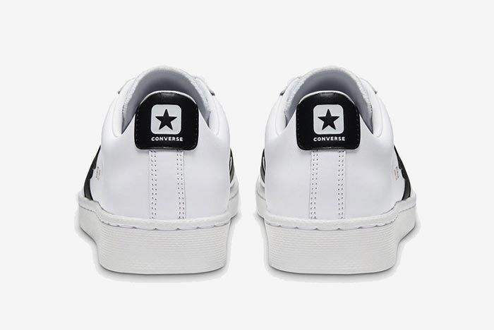 Converse Pro Leather Ox Black Heels