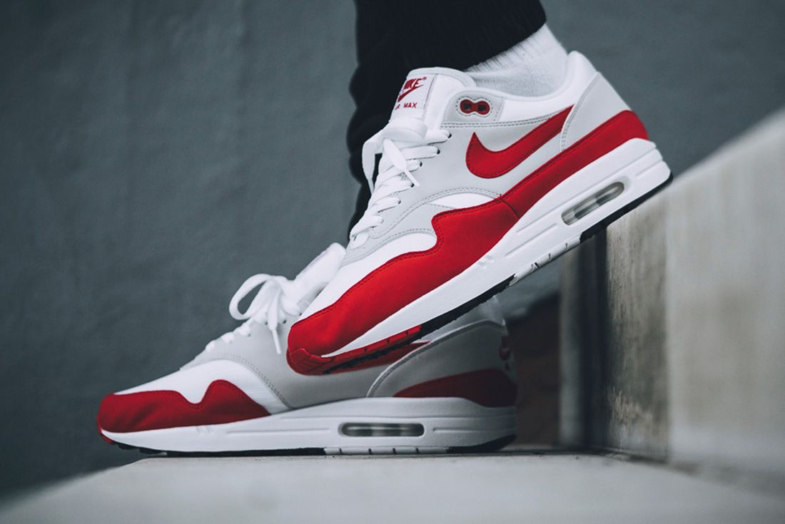 Nike Air Max 1 Red University Red 6
