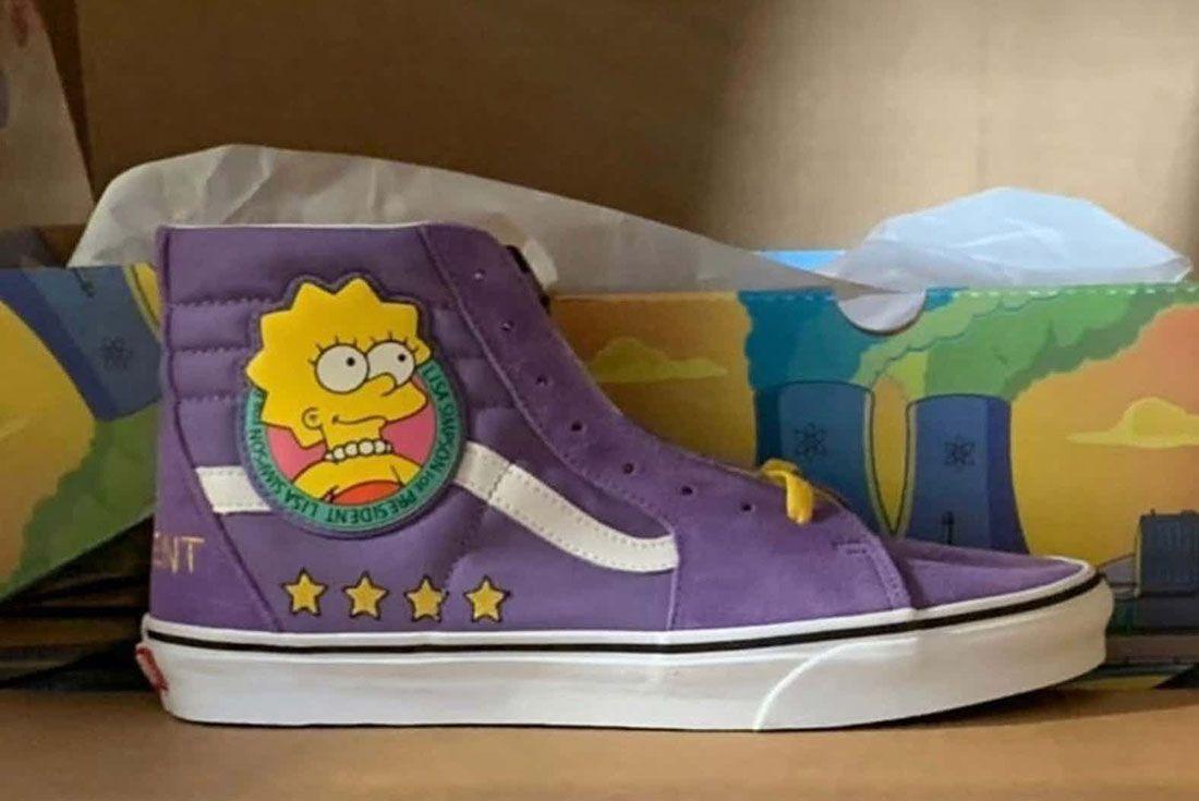 Simpsons Vans Sk8 Hi Lisa 2020
