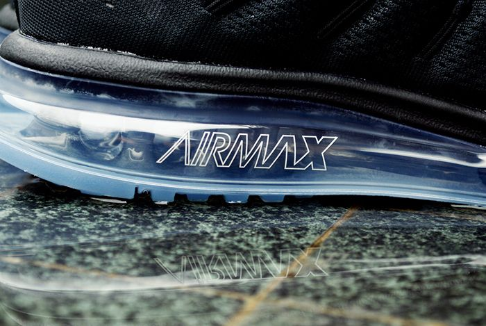 Nike Air Max 2016 Black White 1