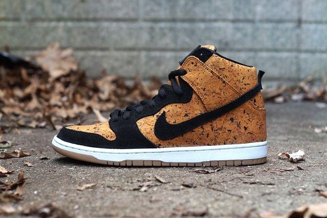 Nike Sb Dunk High Custom By Jbf Customs Cork 1