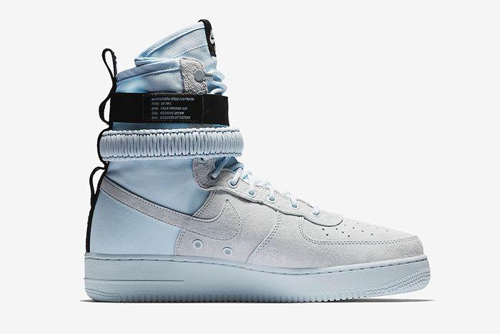 Nike Sf Af 1 Hi Blue Tint 2