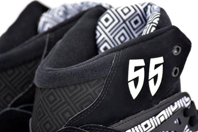 Adidas Mutombo Black White 4