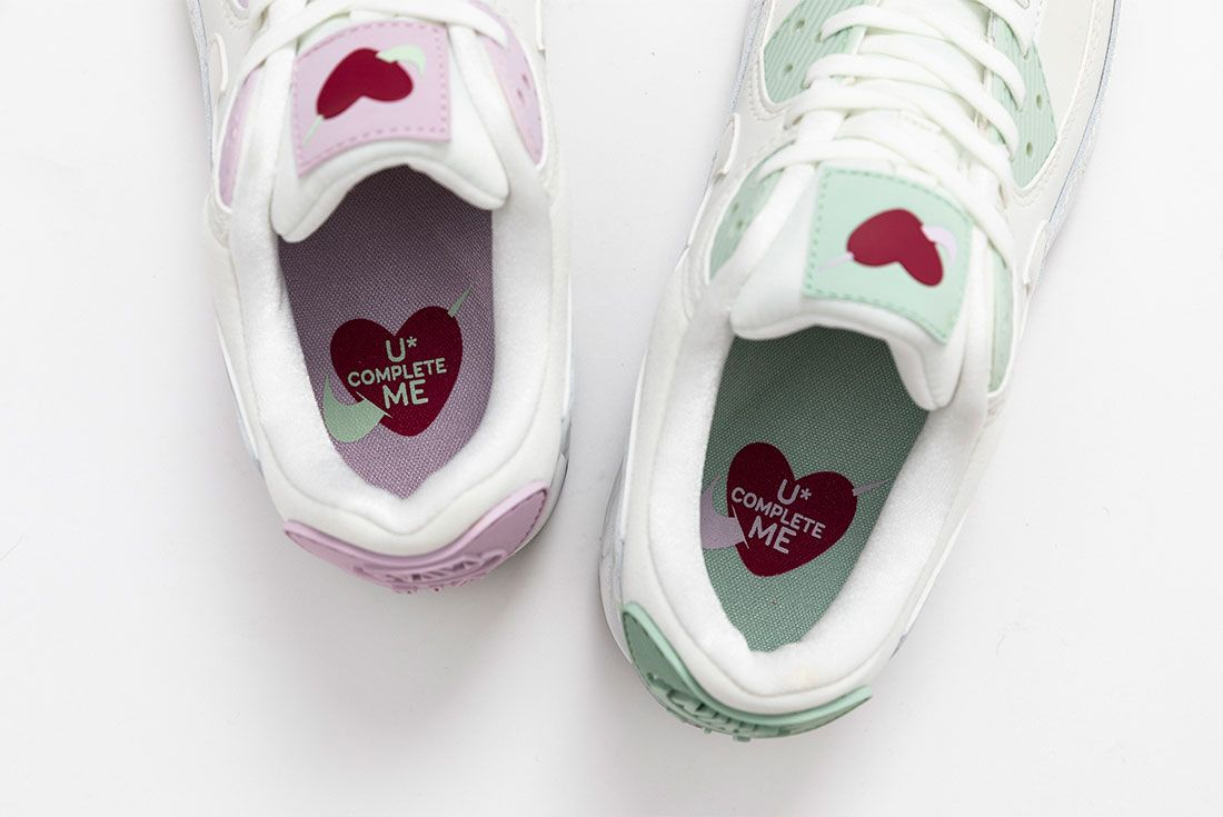Valentines Day Nike Air Max 90 Air Force 1 07 Se Close 5