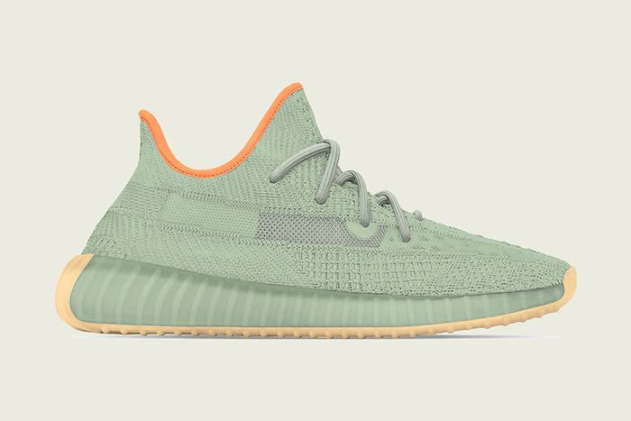 Adidas Yeezy Boost 350 V2 Desert Sage Leak Release Date Lateral