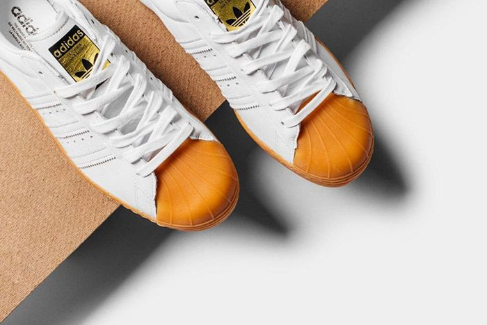 Adidas Originals Superstar 80 S Dlx White Gum 3