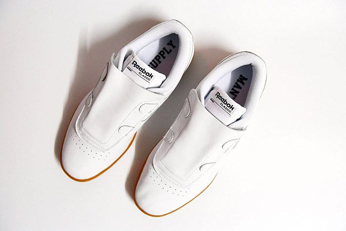 Beams Reebok Workout Low White 5