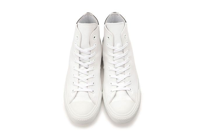 Converse Japan Chuck Taylor Monopanel Hi White Black Top