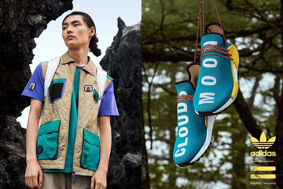 Adidas Pharrell Williams Hu Nmd Trail Pack 2