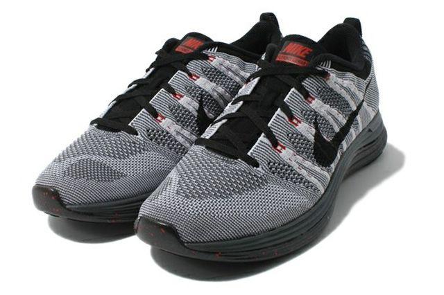 Nike Flyknit Lunar 1 Black Sole 5