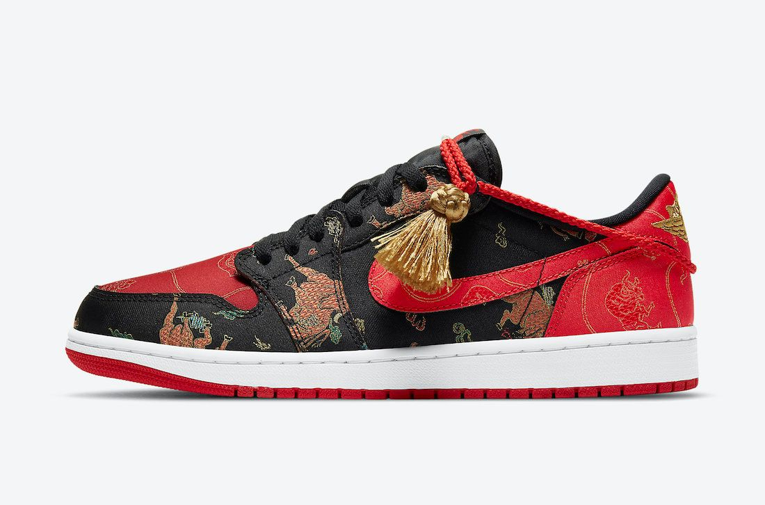 Air Jordan 1 Low Chinese New Year