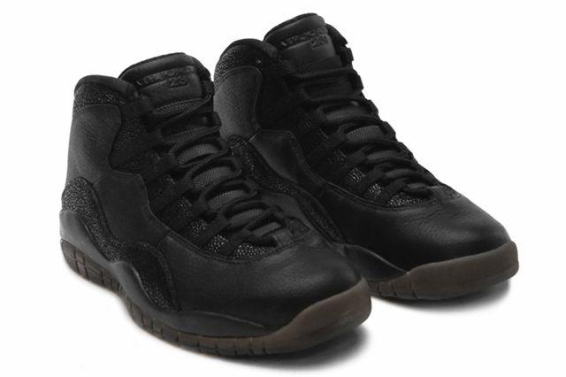 Drake Air Jordan Octobers Very Own Black 10 Angle