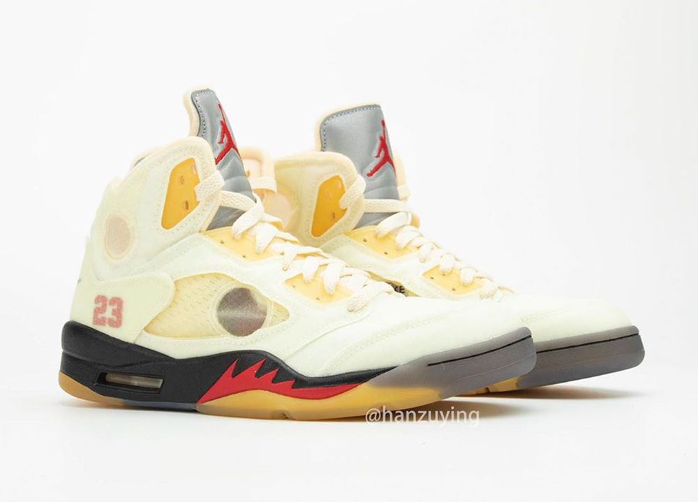 Off-White Air Jordan 5 'Sail'
