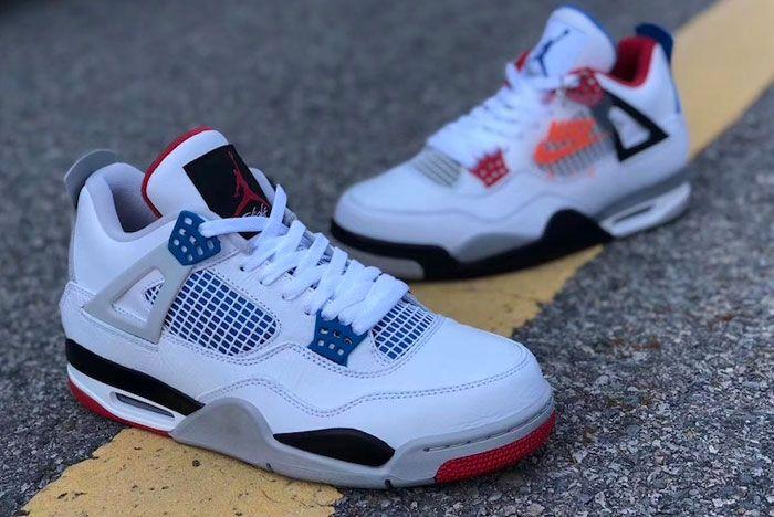Air Jordan 4 What The Long