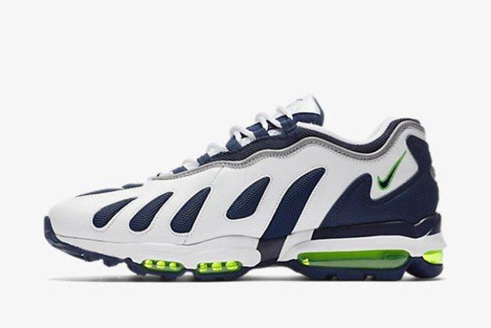 Nike Air Max 96 White Obsidian Scream Green 1