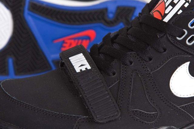 Nike Air Alpha Force Ii Black Royal Blue 1