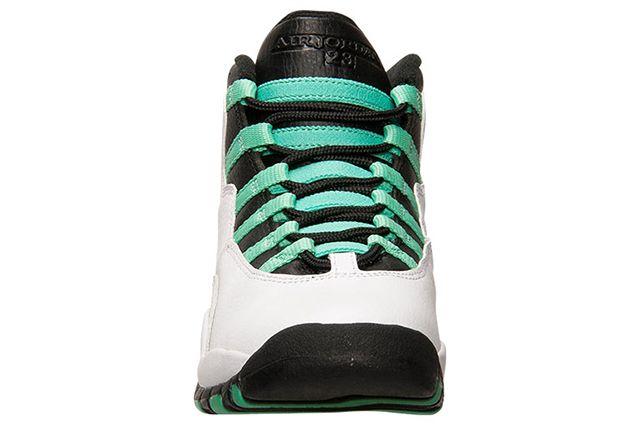 Air Jordan 10 Gg White Verde Black 3