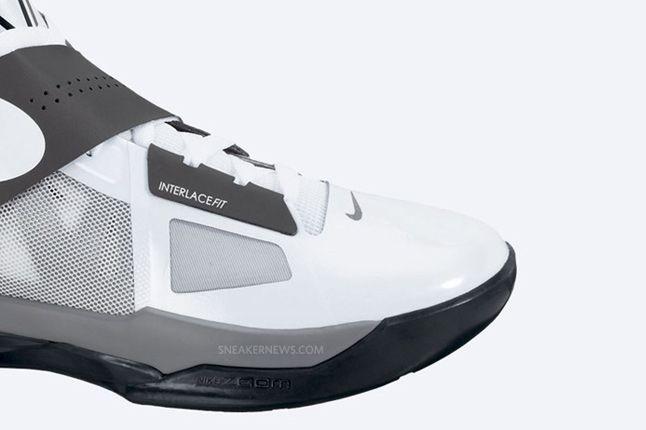 Nike Zoom Kd Iv White Black Cool Grey 5 1