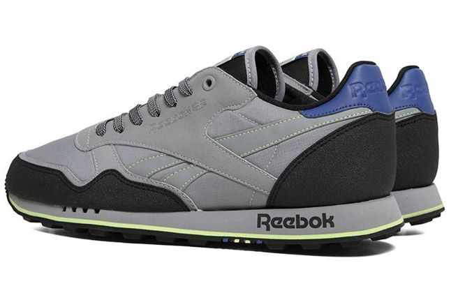 Reebok Classic Leather Trail Feather Grey Quater Back 1