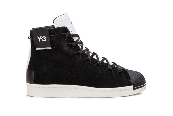 Y 3 Super High Black White 1