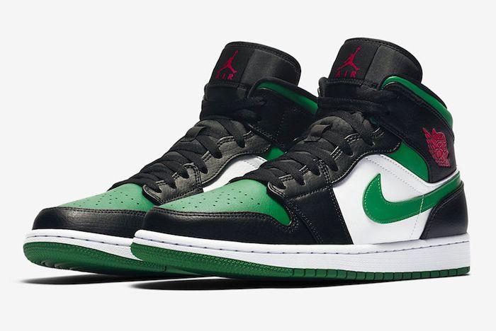 Air Jordan 1 Pine Green Toe