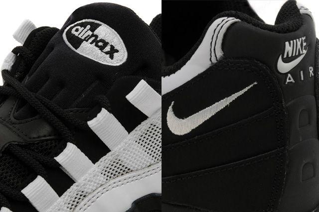 Nike Air Max 95 Jd Exclusive Black White 2