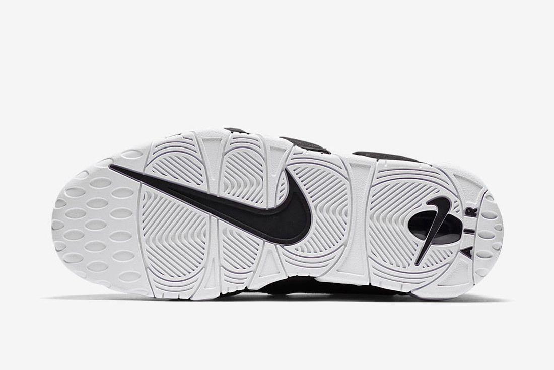 Nike Air More Money Black White 8
