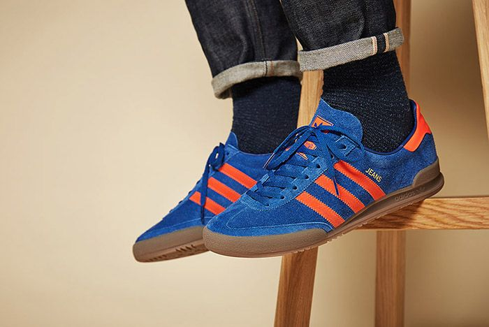 Adidas Jeans Collegiate Royal 3