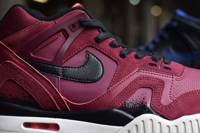 Nike Air Tech Challenge Ii Burgundy Navy Releases 3