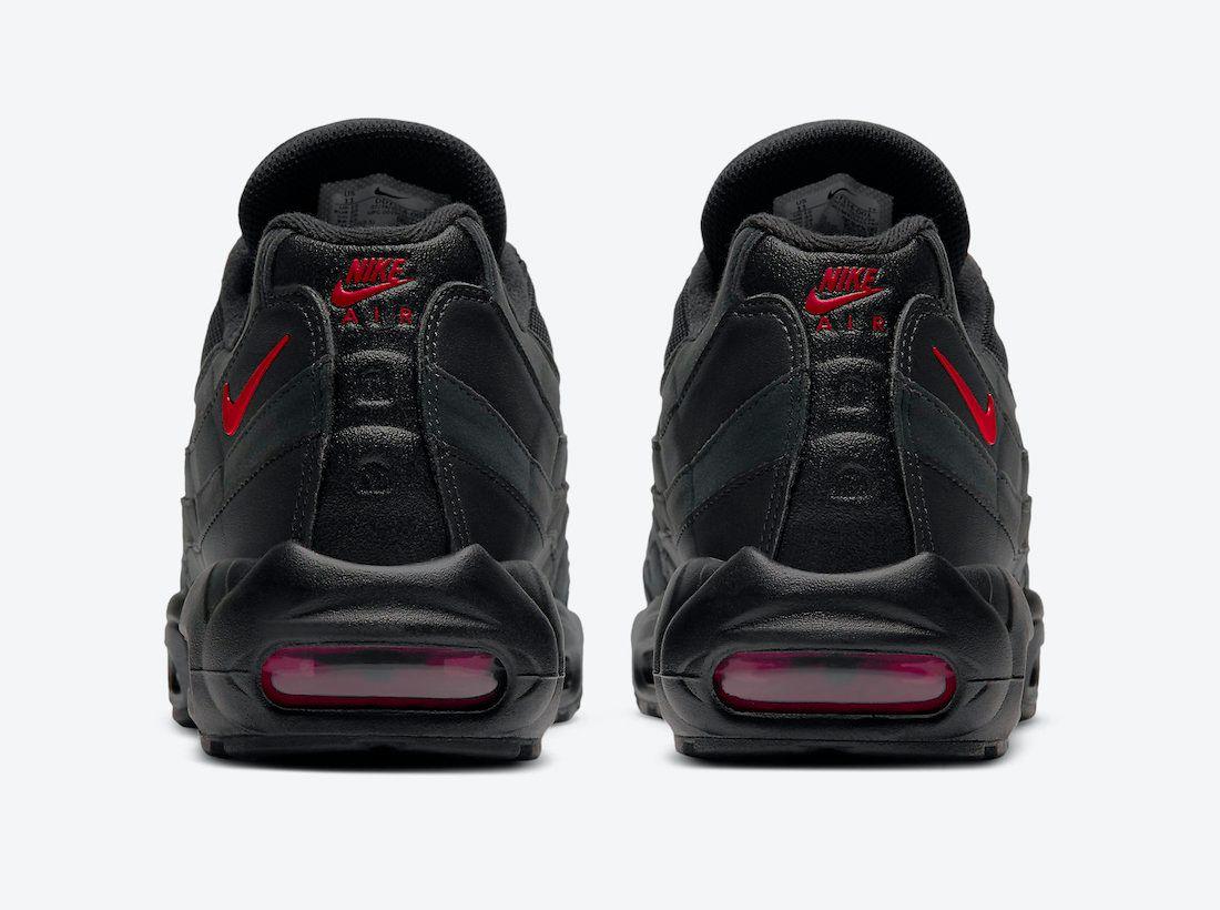 Air Max 95 Black Red