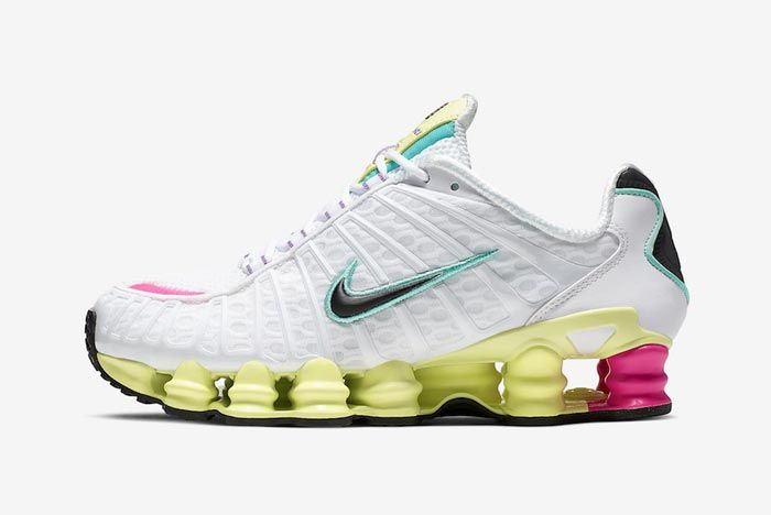 Nike Shox Tl Pastel Lateral