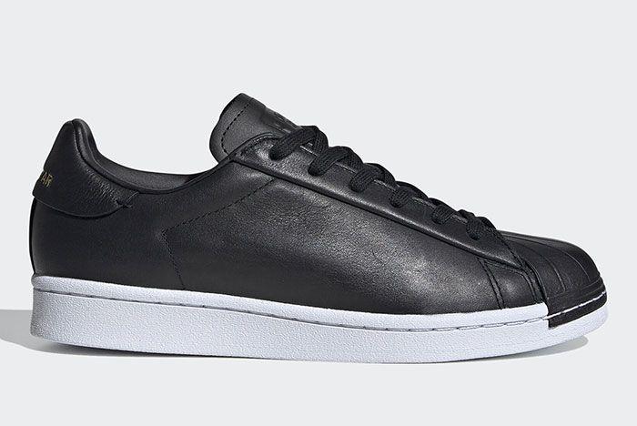 Adidas Stan Smith Black Fv3353 Medial Side Shot