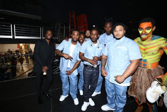 Reebok Kendrick Lamar Grammy 1
