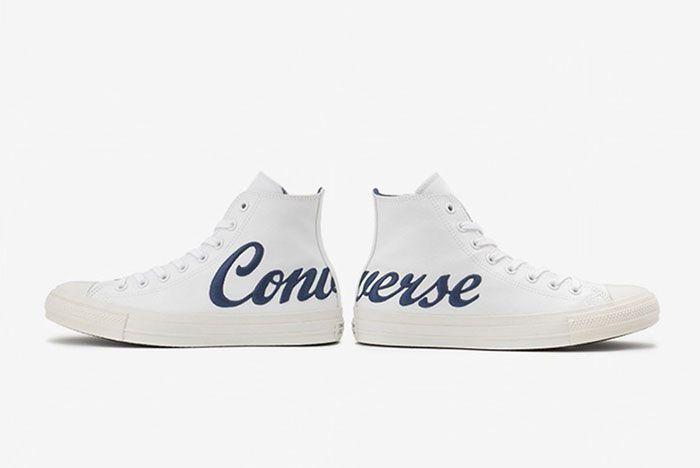 Converse Chuck Taylor Script Logo White 2 Pair