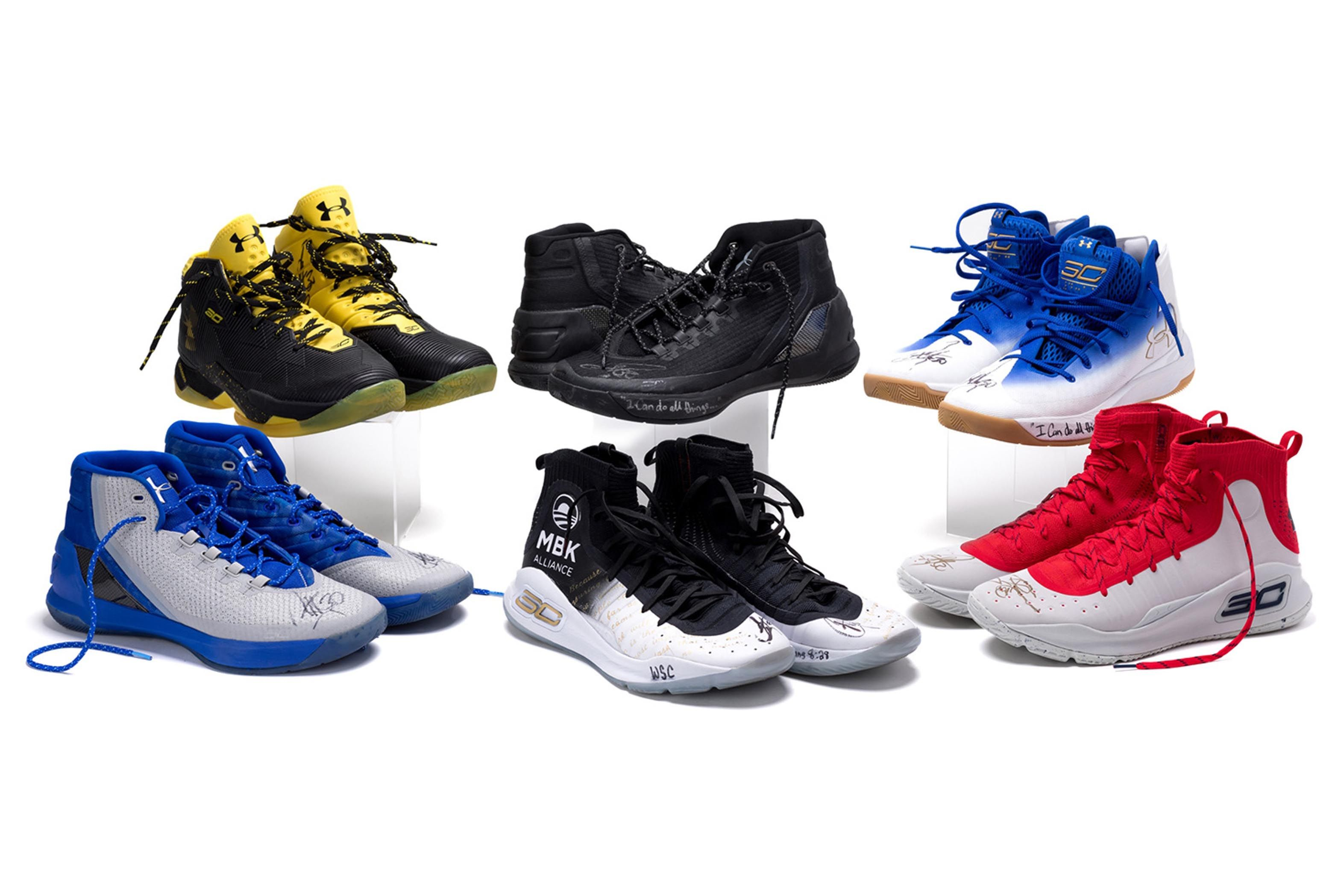 Under Armour Stockx Steph Curry Charity Campaign 1 Sneaker Freaker