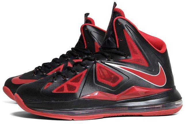 Lebron James Nike Bred 1