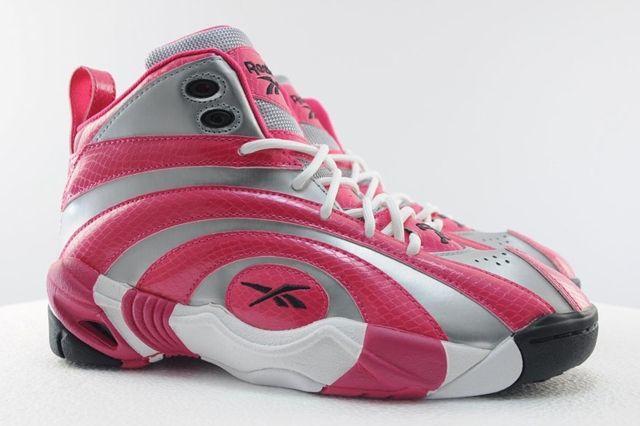 Reebok Shaqnosis Pink Silver 1