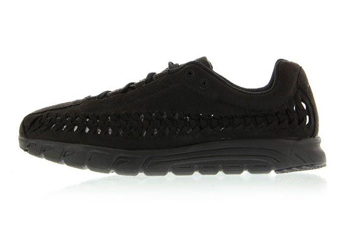 Nike Mayfly Woven Triple Black 3