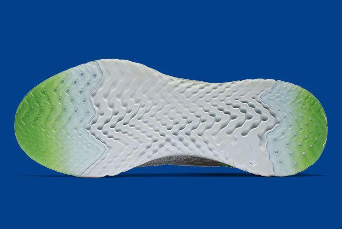 Nike Epic React Grey Scream Green 3