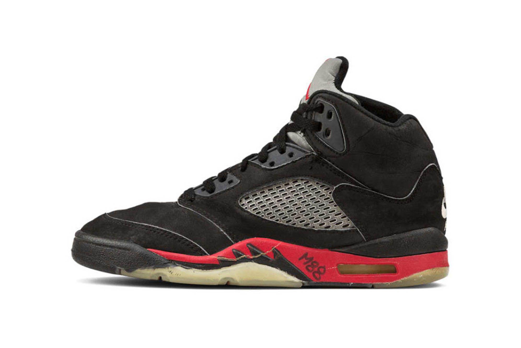 Air Jordan 5 Black University Red Releae Info 1 Sneaker Freaker