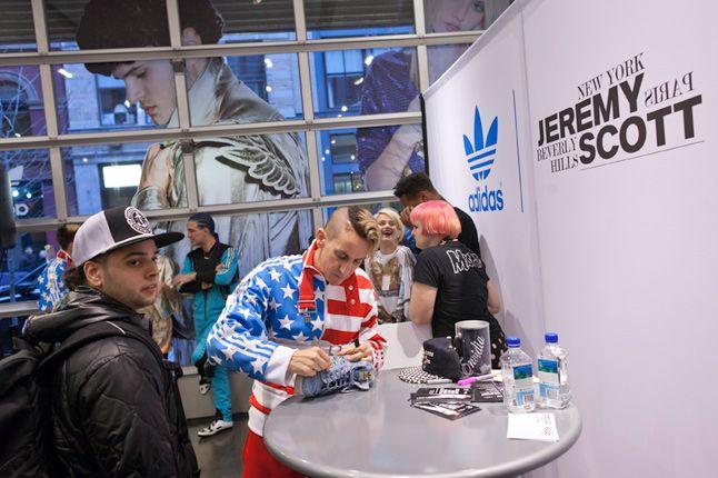 Jeremy Scott In Store Adidas Originals Soho New York 60 1