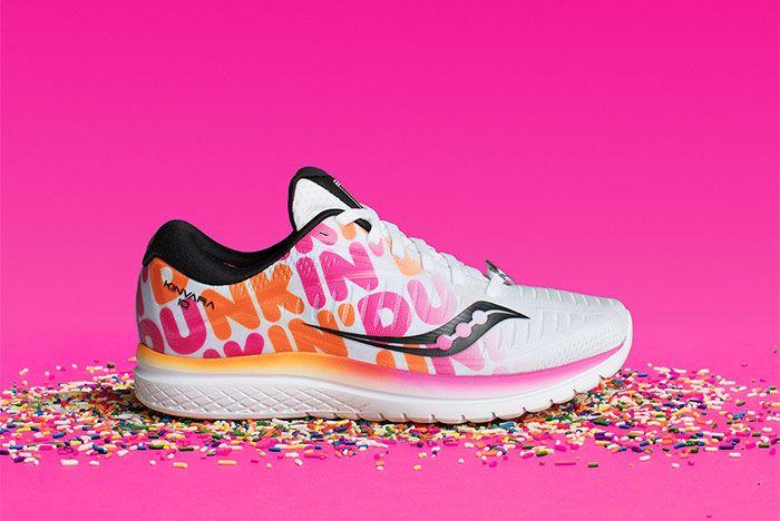 Dunkin Donuts Saucony Kinvara Side