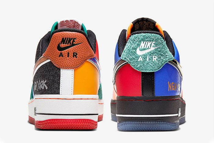 Nike Air Force 1 Low What The Nyc Heel