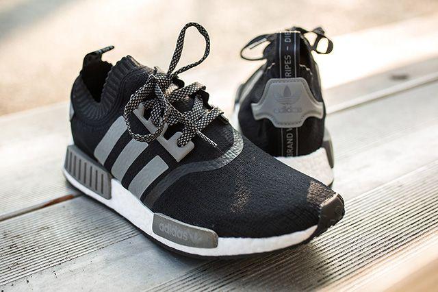 Adidas Nmd Runner Pk Black Grey 4