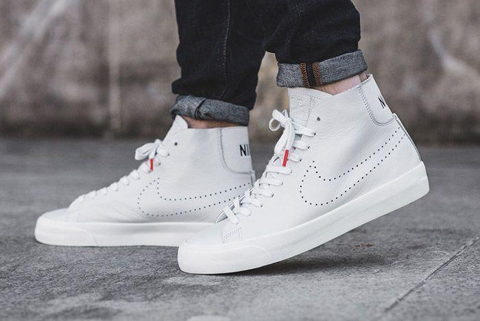 Nike Blazer Studio Mid White 2
